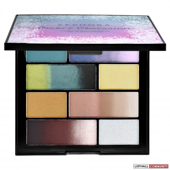 STUNNING sephora collection ombre obsession eye shadow palette (x2)