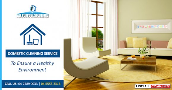 Domestic Cleaning Service Team in Adelaide