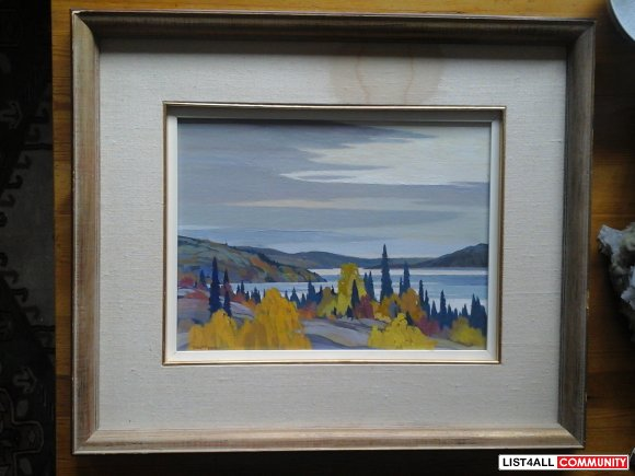 Dick Ferrier Original Painting