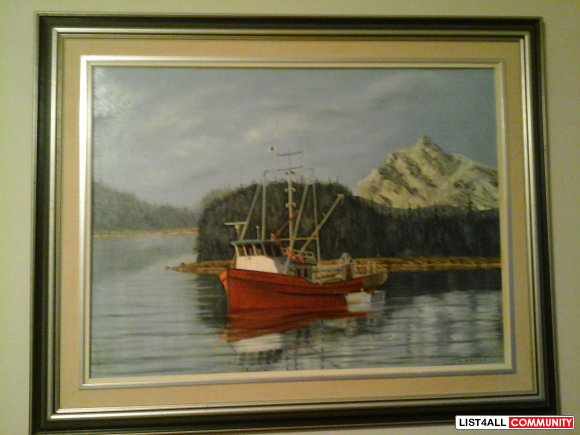 Bill McMurray original painting