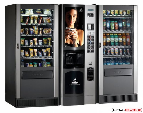 Get The Best Snack and Drinks Vending Machines in Brisbane