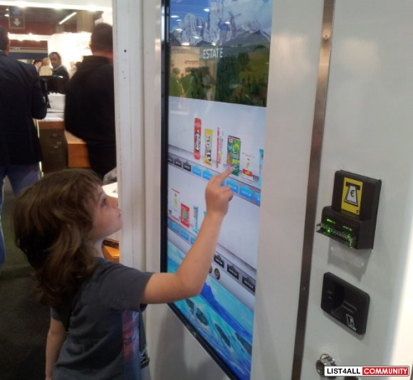 Searching For User-Friendly Touch Screen Vending Machine?