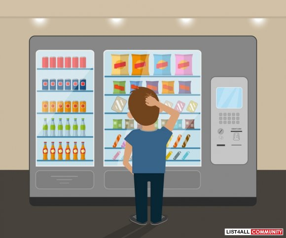 User-Friendly & Customised Touch Screen Vending Machines