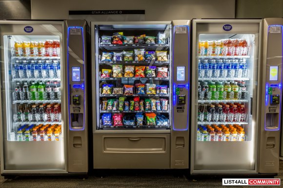 Highly Scalable and Reliable Vending Machine Business For Sale
