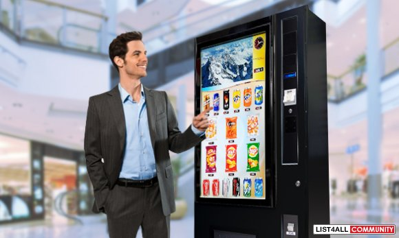 Innovative and User-friendly Touchscreen Vending Machine