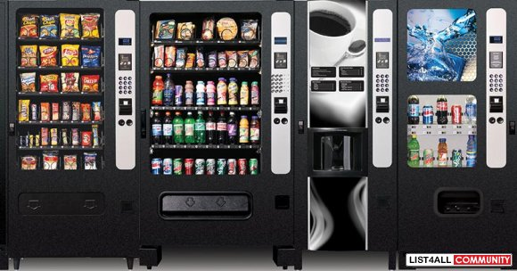 Want to Hire a Vending Machine in Australia?