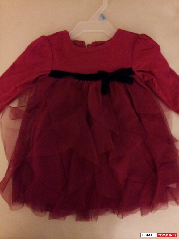 Children's Place Dress- 0-3 months-new