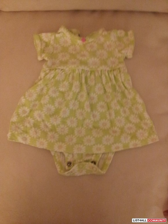 Carter's dress-NB-new