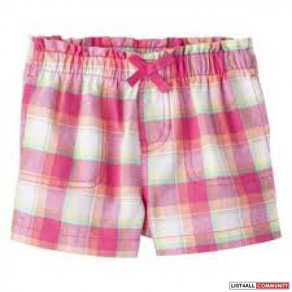 Circo Plaid Shorts - 12 months - new