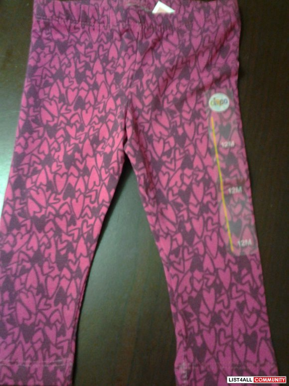Circo leggings - 12 months - new