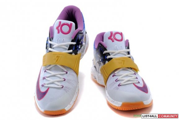 "Oranje ""Peanut Butter and Jelly"" Nike KD 7 GS Mensensens kortingen"