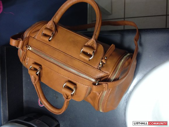 Camel Coloured Handbag