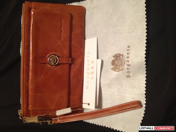 Borgasets Leather Wallet