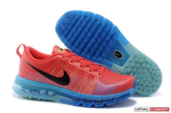 Cheap Flyknit Air Max Running Red Blue Black,www.cheapfreeflyknit.com