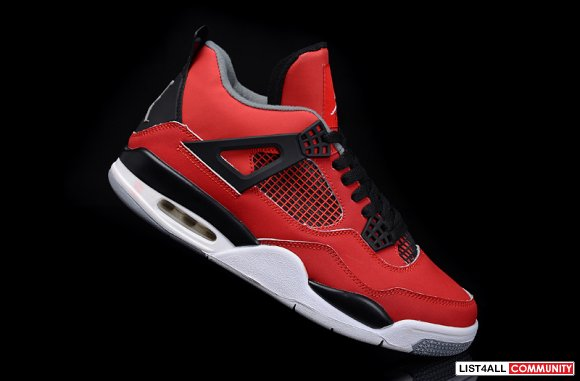 Air Jordan 4 Womens Fire Red Nubuck,www.cheapjordan14.org