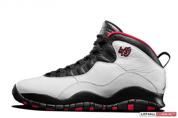 Cheap Air Jordan 10 Retro Chicago 45 PE www.cheapjordan45.com