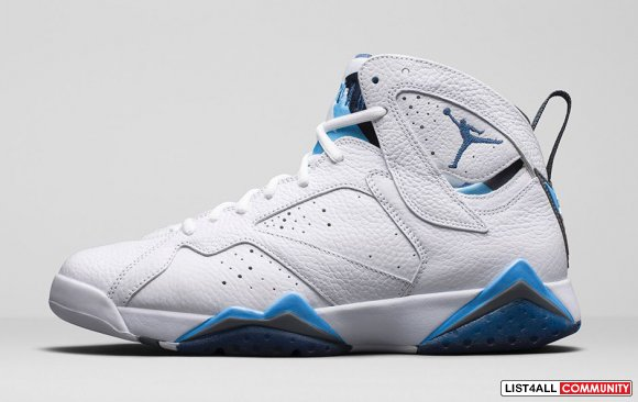 "Air Jordan 7 ""French Blue"" www.cheapjordan7.org"