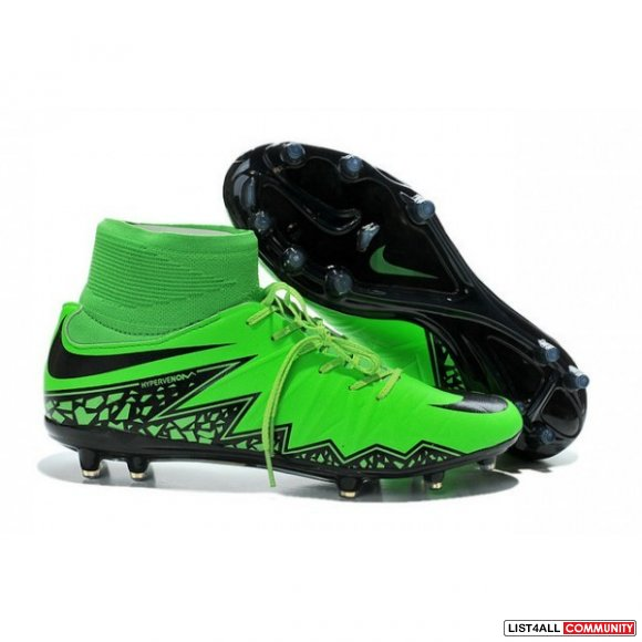 Hypervenom Phantom II FG Green Black,www.cheapmagistas.org