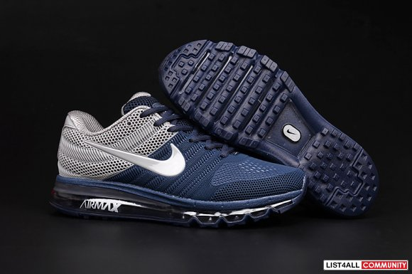 Cheap Air Max 2017 Grey Navy Blue,www.cheapmax2017.org