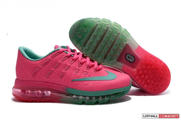 Cheap Air Max 2016 Green Pink Shoes,www.cheapmax2017.org