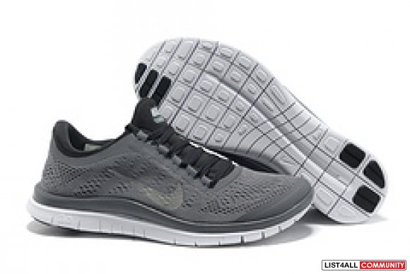 Cheap Nike Free Run 3.0 V5 in Gray Sliver,www.cheapnikefreern.com