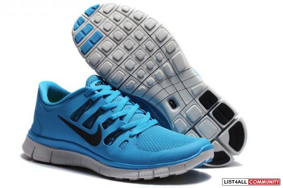Nike Free 5.0+ Jade Black Mens Running Shoes www.cheaprosheshoes.com