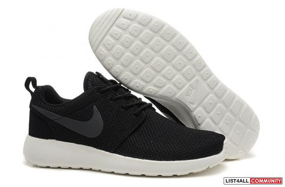 Cheap Nike Roshe Run 2015 Black White,www.cheaprunnings.com