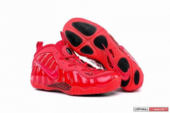 Cheap Nike Air Foamposite One 2016 All Red,www.cheapsoldier10.com