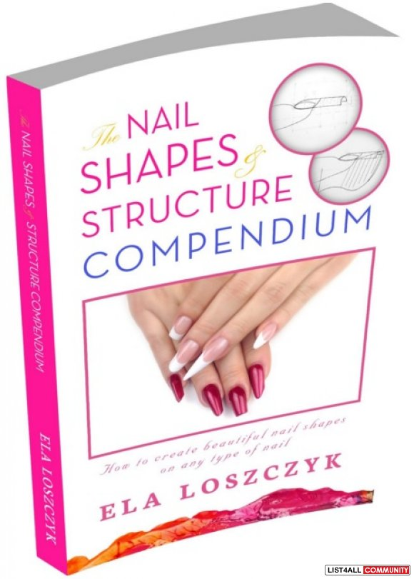 The Nail Shapes & Structure Book