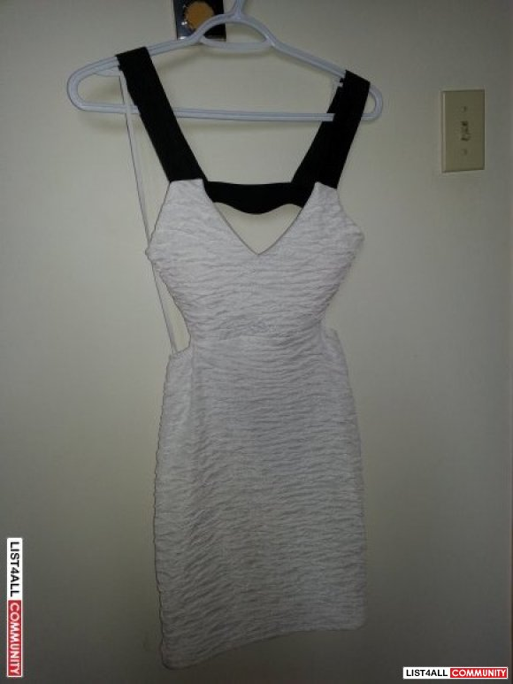 Small with tag white dress