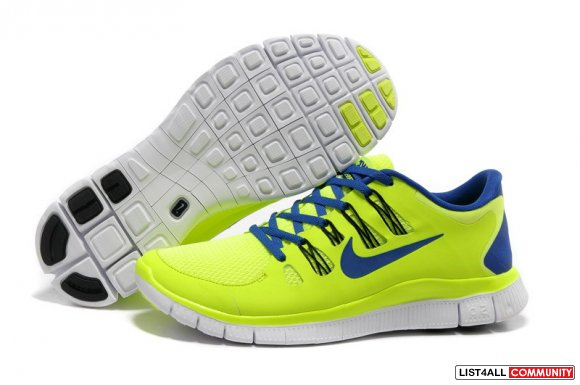 Discount Nike Free 5.0+ Mens Electric Yellow,www.freemercurial.com