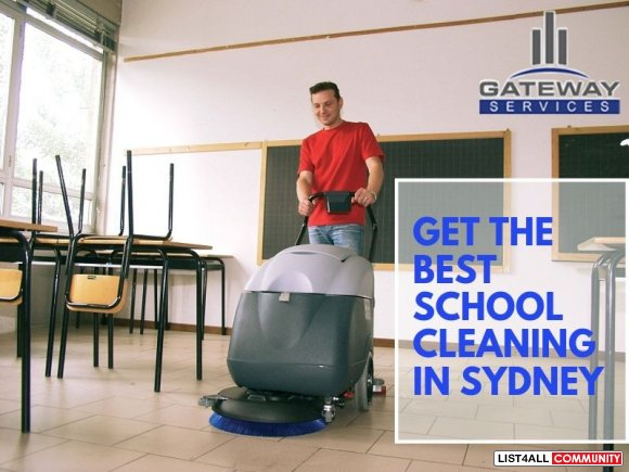 Get the Best School Cleaning in Sydney