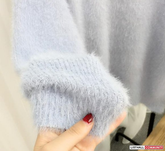 Oversized Furry Sweater