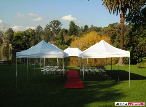 Unique and Instant Marquee Hire for Weddings