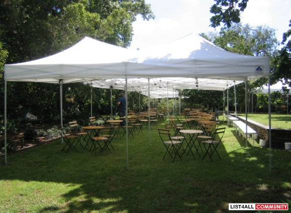 Hire Comfortable Marquees for Your Parties