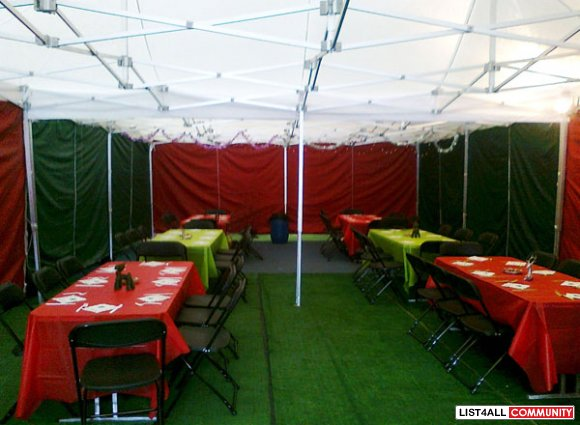 Protect Your Guests From Rains with Pop Up Marquee
