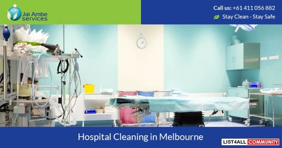 Hospital Cleaning Experts in Melbourne
