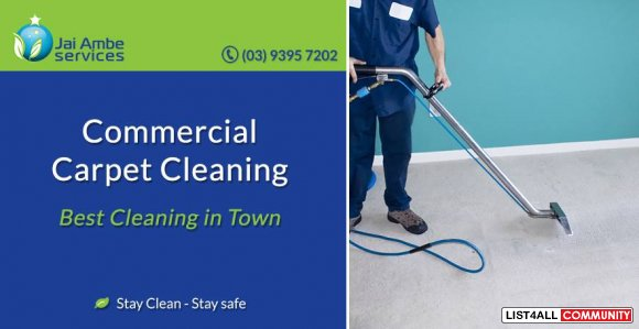 Commercial Carpet Cleaning in Melbourne