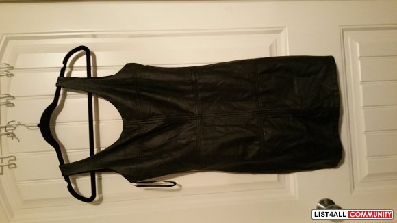 leather dress from DYNAMITE