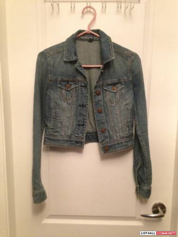 Ladies American Eagle Jean Jacket