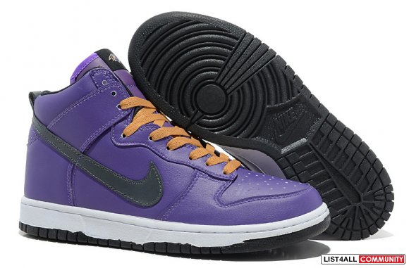 Nike Dunk High NFL Baltimore Ravens www.kd8easy.com