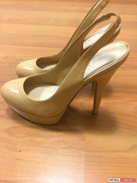 sexy ALDO pumps! Cream/Beige coloured size 5