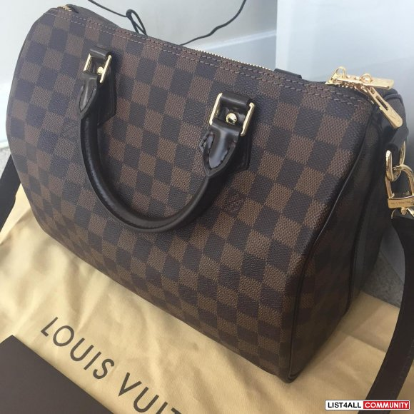 Louis Vuitton Speedy B 30