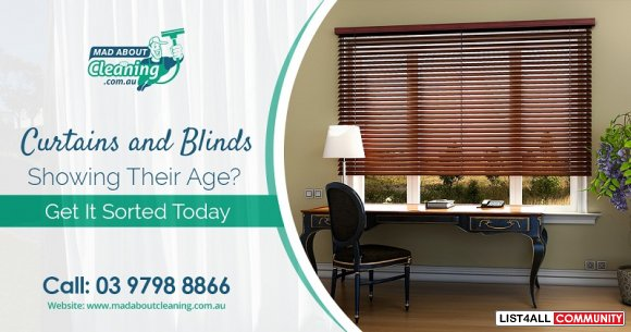 A Reliable Curtains Cleaning Service in Melbourne