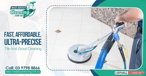 Say Goodbye to Dull Looking Tiles. Get Professional Cleaning in Melbou