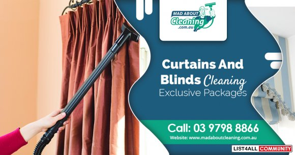 Get the Best Curtain Cleaning in Melbourne