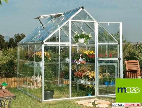 Looking for Walk-in 6x8 Greenhouse for Your Plants?