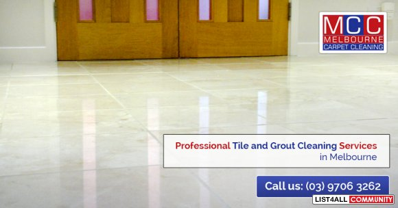 Tile & Grout Cleaning in Melbourne only at $4.50* per sqm