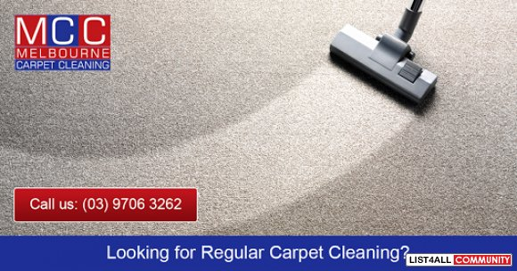 Book Your 3 Rooms Carpet Steam Cleaning - Now Only $66*