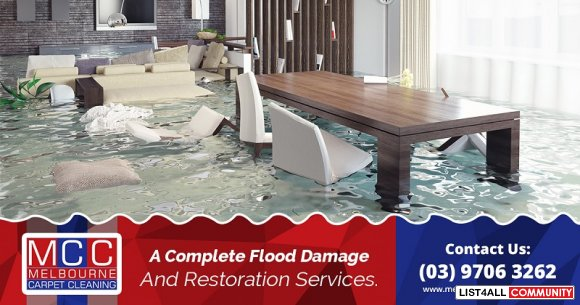 Quick and Reliable Flood Damage Restoration Service in Melbourne